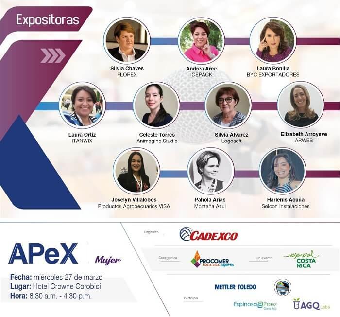 ACPE Mujeres exportación