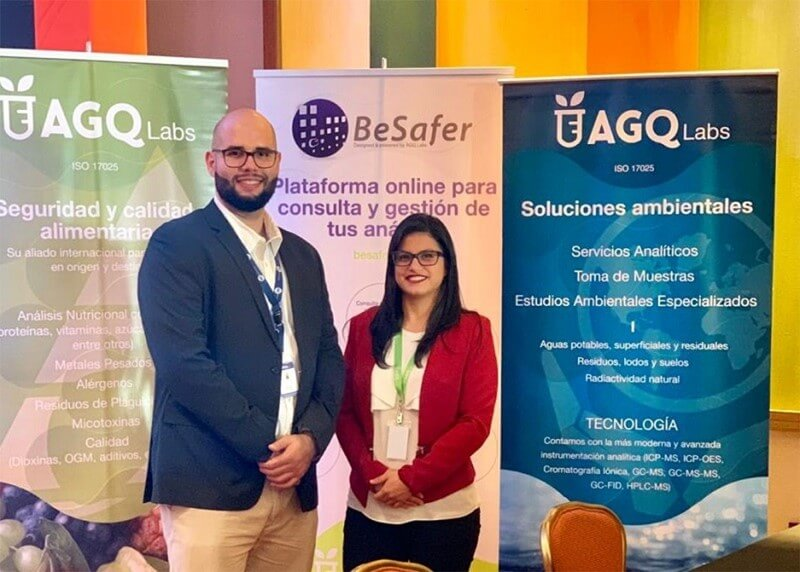 AGQ Labs en congreso y jornada sobre alergenos alimentarios