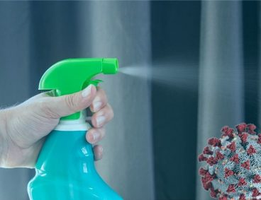 Análisis de desinfectantes y productos de limpieza