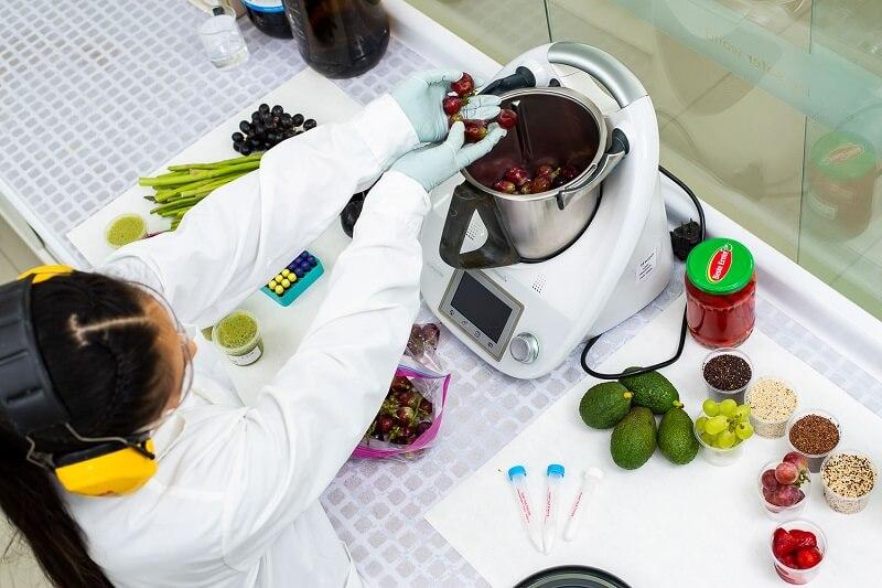Analisis de vitaminas en alimentos y piensos