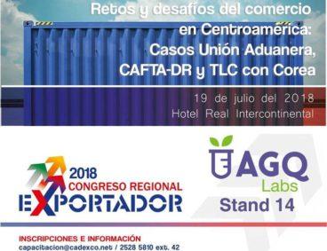 AGQ Labs en el Congreso Regional del Exportador