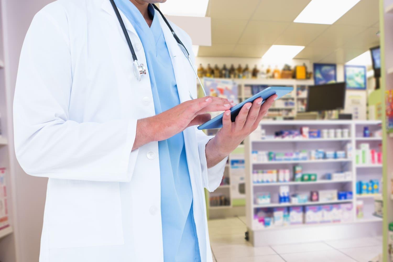 Industria farmacéutica fondo